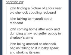 *SPOILERS AHEAD* so in new season we found out that redbeard wasn't a dog so this is like making me want to cry now.
