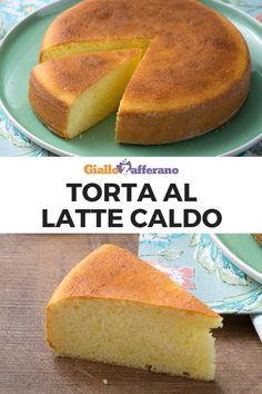 TORTA AL LATTE CALDO: golosa, semplice e genuina. Un dolce facilissimo da preparare perfetto per la colazione! #torta #latte #caldo #hot #milk #cake #dolce #dessert #sweet #breakfast #colazione #merenda #easy #recipe #ricetta #facile #veloce #italian #food #giallozafferano [Easy italian hot milk cake recipe] Sweet Recipes, Cake Recipes, My Favorite Food, Favorite Recipes, Hot Milk Cake, Biscotti, Italian Recipes, Food To Make, Food Porn