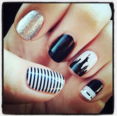 Skyline Jamberry nail wraps feature different major city landmarks like Paris, New York, and Seattle Perfect for life in the city. Get them here: karaodell.jamberrynails.net