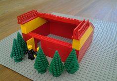 Marias stjerne-gapahuk Cube, Lego, Tray, Trays, Legos, Board