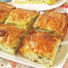 » Placinta cu branza si mararCulorile din Farfurie Rome Food, Eastern European Recipes, Greek Cooking, Romanian Food, Romanian Recipes, Pastry And Bakery, Summer Recipes, Food Inspiration, Food Videos