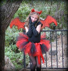 Little Devil Toddler Girl Tutu Costume for by sweethearttutus, $45.00