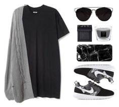 """My favorite cardigan"" by felytery ❤ liked on Polyvore featuring NIKE, Retrò, Casetify, Baobab Collection, NARS Cosmetics and mycardi"