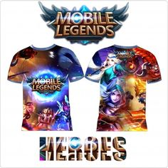 Kaos Mobile Legend – MOSKOV | Distro Custom Apparel