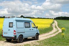 Mercedes Sprinter Camper, Camper Conversion, Camper Van, Van Life, Recreational Vehicles, Travel, Truck, 4x4 Camper Van, Viajes