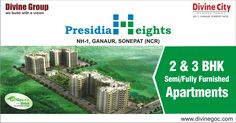 Presidia Heights of Divine Group is the perfect choice to meet the individual needs of keen buyers. Thus, drop all other options on back seat and start the process now to book the desired home. http://goo.gl/W3CkwT #presidiaheights #divinegroup