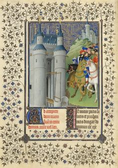 15th century Dutch painters, the Limbourg brothers, combined their deft renderings in miniature, their French gothic style, and an appreciation of both the splendid and embellished. The results have become legendary and iconic studies in grand and exemplary illumination.