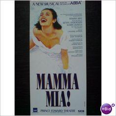 ABBA - Mamma Mia. Advert Prince Edward original 1999 leaflet