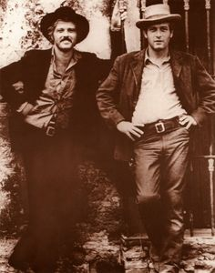 """You just keep thinkin', Butch. That's what you're good at."" Butch Cassidy and the Sundance Kid"