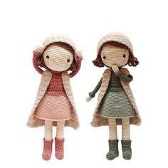 Ravelry: Brianna pattern by Aikaterini Nikolaidou Doll Amigurumi Free Pattern, Crochet Dolls Free Patterns, Crochet Doll Pattern, Amigurumi Doll, Crochet Crafts, Crochet Toys, Crochet Projects, Crochet Doll Tutorial, Creation Couture