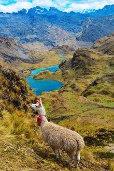 views on lares trek