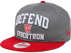 68780b946d4 Transformers Battle 9FIFTY Snapback Cap Hats