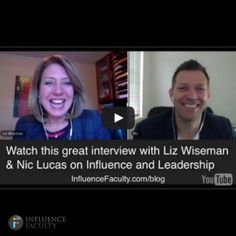 Do YOU want to be a more effective leader ... at home, work, business, sport ...? Do you want to learn about this from someone who consults on leadership to the biggest companies on the PLANET? Well, here ya go. Nic Lucas' interview with Wall St Journal best selling author Liz Wiseman.