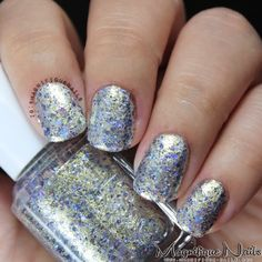 Essie Encrusted Treasures 2013 Collection Swatches: On a Silver Platter #nails #nailpolish #swatches #essie #texturenails