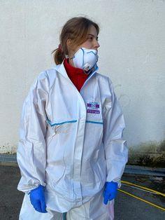 Respirator Mask, Rain Wear, Rain Jacket, Windbreaker, How To Wear, Jackets, Fashion, Pvc Apron, Masks