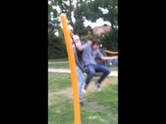 insane swing fail     Never let your friend give you a swing push