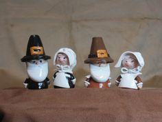 Pilgrim Gnomes for Fairy Gardens. $22.00, via Etsy.