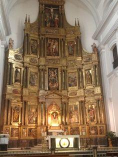 Retablo de la parroquia de San Miguel de Pamplona. Fue realizado para la Catedral de esta ciudad.
