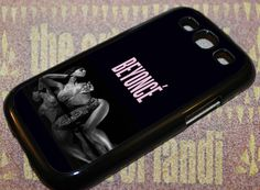 beyonce For Samsung Galaxy S3 Black Rubber Case