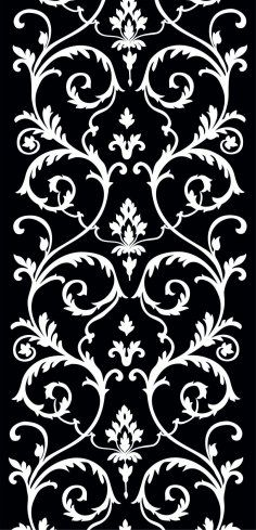Room Divider And Wall Separator Free Dxf File File Room Separator CNC DXF file type, cnc pattern, Cnc cutting, laser cutt, room divider by FilesCNCproject on Etsy Stencils, Damask Stencil, Stencil Patterns, Stencil Designs, Embroidery Patterns, Arabesque, Baroque Ornament, Wall Separator, 3d Cnc