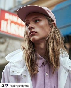 #Repost @martinsundqvist with @repostapp  New work for Vanity Teen! #vanityteen #magazine #fashion #editorial #portrait #young #city #boy #stockholm #location #photoshoot #fashion #male #model #leon #mikas #longhair #hair #makeup #work #makupartist #martinsundqvist