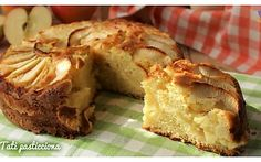 Mela cake ripiena di crema pasticcera