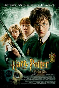 Maratona dia 2: 30/10/2016 - Harry Potter e a Câmara Secreta (