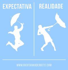 expectation / reality