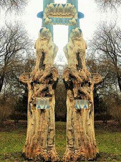 'Baumskulpturen V' von Martin Blättner bei artflakes.com als Poster oder Kunstdruck $15.68
