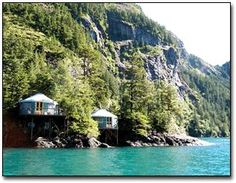 Orca Island Cabins. why have i not been here yet?