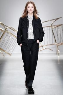 Julien David Fall 2014 Ready-to-Wear - Collection - Gallery - Look 1 - Style.com
