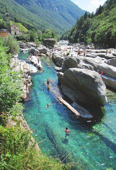 """Valle Verzasca, Switzerland"""