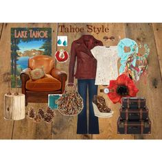 Tahoe Style, created by cindy-holden-deas on Polyvore