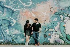 Ensaio de casal - Luciana & Augusto - Beco do Batman - SP
