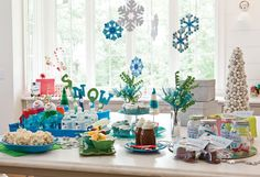 Let It Snow! Snowman-Themed Party