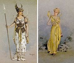Costume Designs for Iolanthe: Queen of the Fairies and Iolanthe