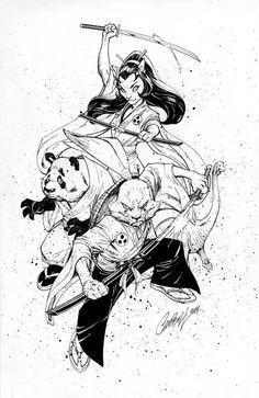 Usagi Yojimbo by J. Scott Campbell *