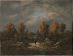 Narcisse-Virgile Diaz de la Peña (French, 1808–1876). Autumn: The Woodland Pond, 1867. The Metropolitan Museum of Art, New York. Mr. and Mrs. Isaac D. Fletcher Collection, Bequest of Isaac D. Fletcher, 1917 (17.120.214)