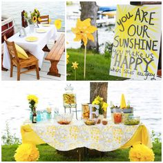 The perfect summer party theme? Sunshine! http://skirtpr.com/blog/lifestyle/how-to-throw-a-summer-party/