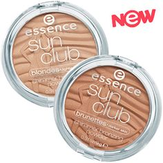sun club | essence cosmetics, natural bronzed look with a soft coconut scent, instant summer feeling !!