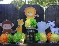 Safari Baby Shower Decoration U2013 Etsy