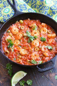 Shrimp Veracruz makes a magnificent meal with not a lot of fuss!