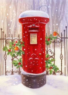 Lisa Alderson - LA - Christmas Postbox 10-16