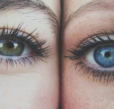 Color eyes #blue #green