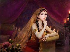 Set of stunning digital female portrait illustrations. Enjoy!More ImagesAuthor