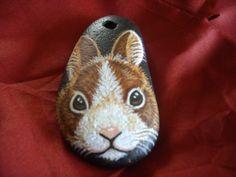 RESERVED FOR CRISTINA. Cute Rabbit Pendant