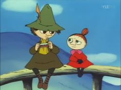 """""""You and I should start dating"""" I just love this scene! Little My Moomin, Tove Jansson, Purim Costumes, Moomin Valley, Old Cartoons, Learn Embroidery, Cartoon Characters, Fictional Characters, Anime"""