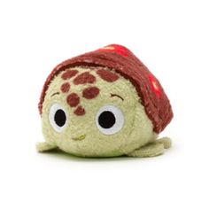 """The laid-back sea turtle is ready to cruise into your collection with our adorable """"Tsum Tsum"""" mini Squirt toy! With 3D fins and a detailed shell, this stackable softie will be an instant favourite."""