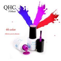 1Pcs Nail  Polish Gel Len Long-lasting Soak-off Gel Nail LED UV 6ml Summer Hot Nail Gel BY QHC FiMeet [Affiliate]