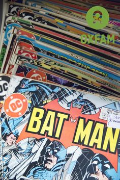 Comic book fan? How awesome are these from the Oxfam book shop in St Albans?!